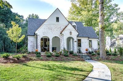 Winston Salem Single Family Home For Sale: 600 Roslyn Road