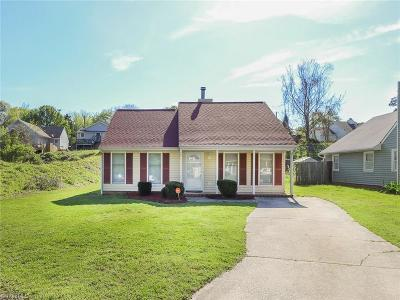 Greensboro Single Family Home For Sale: 2611 Bears Creek Road