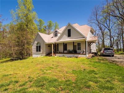 Gibsonville Single Family Home Due Diligence Period: 7389 Brooks Bridge Road