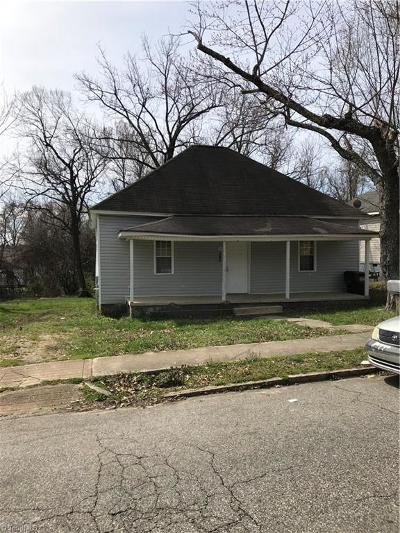 High Point Single Family Home For Sale: 806 E Commerce Avenue