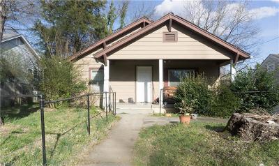 High Point Single Family Home For Sale: 1033 Asheboro Street