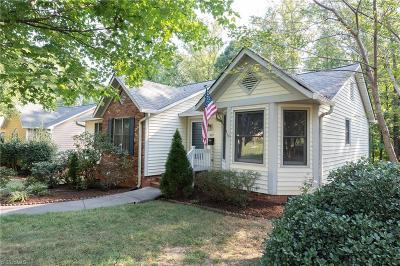 Winston Salem Single Family Home For Sale: 1069 Gales Avenue