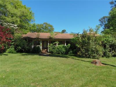 Greensboro Single Family Home For Sale: 527 Idlewild Avenue