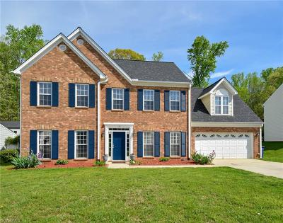 Winston Salem Single Family Home For Sale: 133 Stone Moss Lane