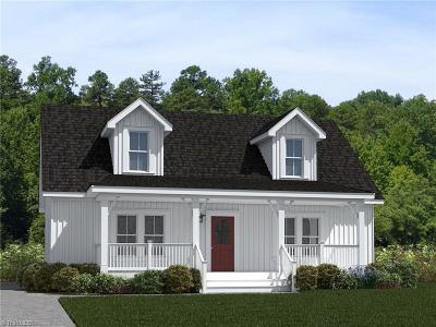 Alamance County Single Family Home For Sale: Lot 2 Townbranch Road