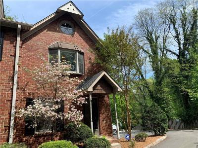 Winston Salem Condo/Townhouse For Sale: 855 W 6th Street #11