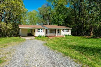 Reidsville Single Family Home For Sale: 389 Brooks Road