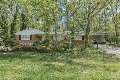 High Point Single Family Home For Sale: 1100 Brookwood Drive