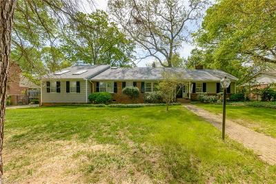 Winston Salem Single Family Home For Sale: 628 Yorkshire Road
