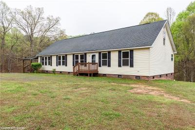 Reidsville Single Family Home For Sale: 2380 Baker Crossroad Road