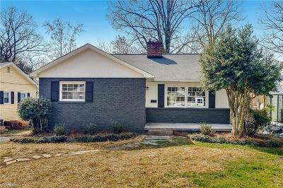 Winston Salem Single Family Home For Sale: 1220 Martin Street