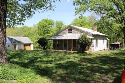 Walkertown Single Family Home For Sale: 5521 Davis Road