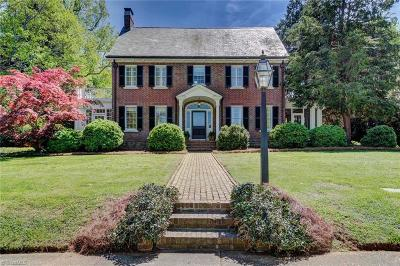 Surry County, Yadkin County, Davie County, Stokes County, Forsyth County, Davidson County, Rockingham County, Guilford County, Randolph County, Caswell County, Alamance County Single Family Home For Sale: 203 Wentworth Drive