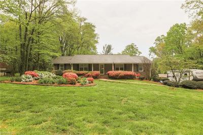 Winston Salem Single Family Home For Sale: 2055 Duckworth Court