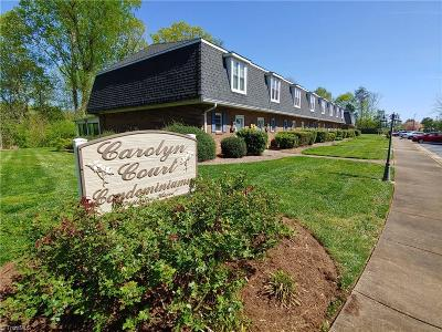 Surry County, Stokes County, Rockingham County, Yadkin County, Forsyth County, Guilford County, Alamance County, Davie County, Davidson County, Caswell County, Randolph County Condo/Townhouse For Sale: 506 Carolyn Court