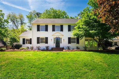 Winston Salem Single Family Home For Sale: 1916 Runnymede Road