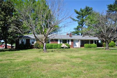 Yanceyville Single Family Home For Sale: 8192 Us Highway 158