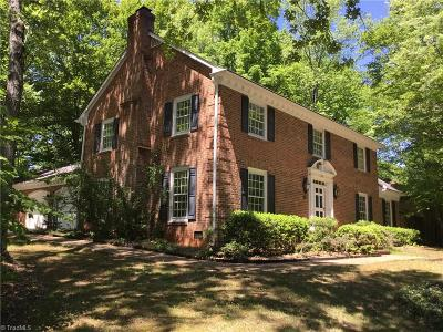 Greensboro Single Family Home For Sale: 501 Willoughby Boulevard