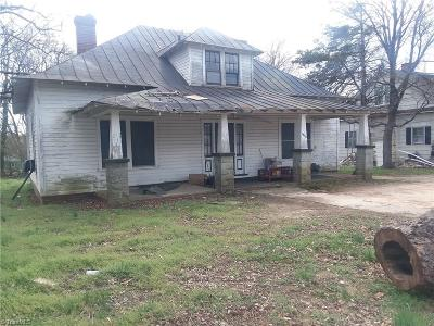 Reidsville Single Family Home For Sale: 1005 Lindsey Street