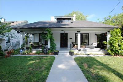 Winston Salem Single Family Home For Sale: 120 Taylor Street