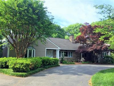 Winston Salem Single Family Home For Sale: 2925 Country Club Road
