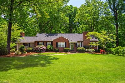 Sherwood Forest Single Family Home For Sale: 1103 N Peace Haven Road