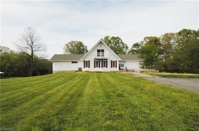 Rural Hall Single Family Home Due Diligence Period: 2625 Mizpah Church Road