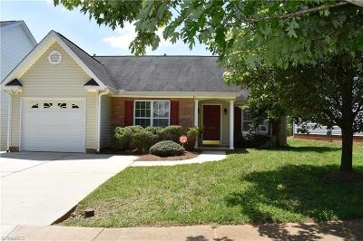 Greensboro Single Family Home For Sale: 5915 Bluestem Circle
