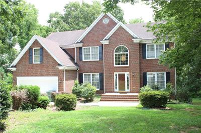 Greensboro Single Family Home For Sale: 4404 Natural Lake Court