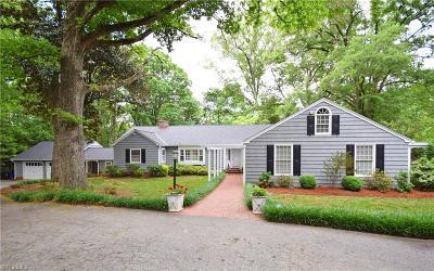Winston Salem Single Family Home For Sale: 521 Buckingham Road