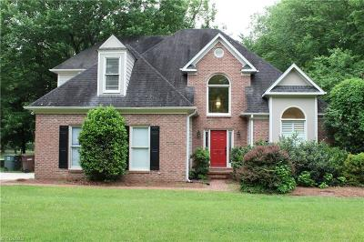 Greensboro Single Family Home For Sale: 3901 Brandt Lake Court