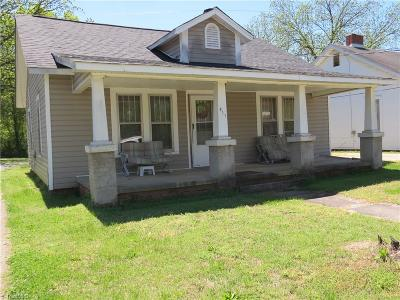 Reidsville Single Family Home For Sale: 911 Lindsey Street