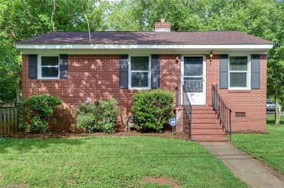 Reidsville Single Family Home For Sale: 1002 Lane Street