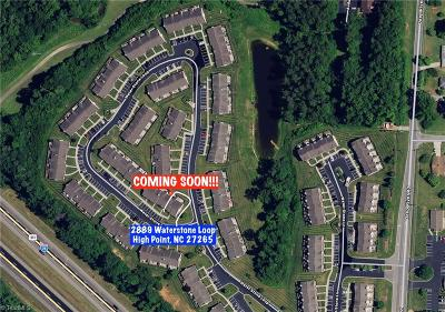 High Point NC Condo/Townhouse For Sale: $113,000