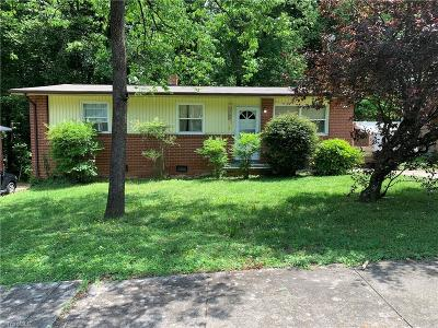 High Point Single Family Home For Sale: 612 Ellwood Drive