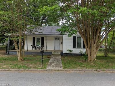 Eden Single Family Home For Sale: 520 Walnut Street