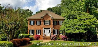 Winston Salem Single Family Home For Sale: 5119 Laurel View Drive
