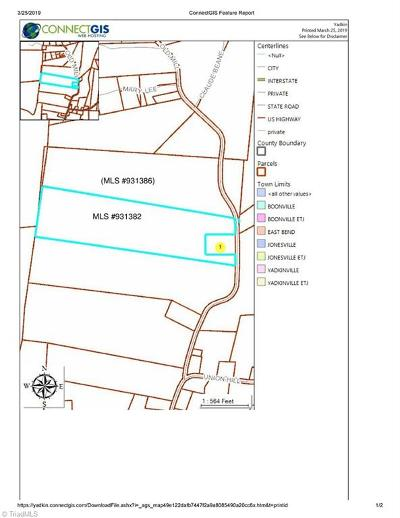 Yadkin County Residential Lots & Land For Sale: 3849 Old Mill Road #LOT 3