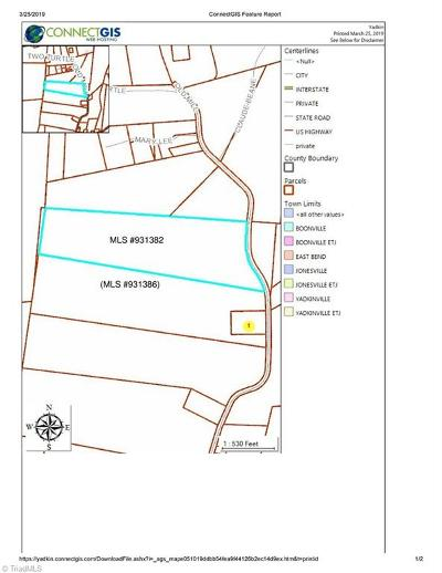Yadkin County Residential Lots & Land For Sale: 3849 Old Mill Road #LOT 4
