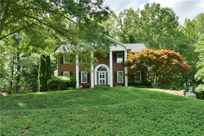 Winston Salem Single Family Home For Sale: 900 Shadowmere Court