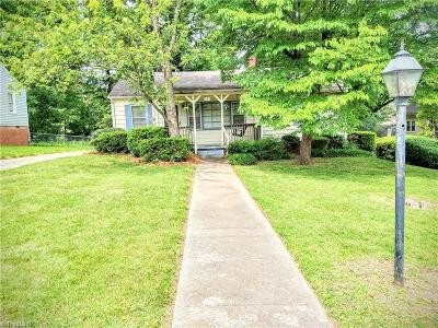 High Point Single Family Home For Sale: 1103 Tabor Street