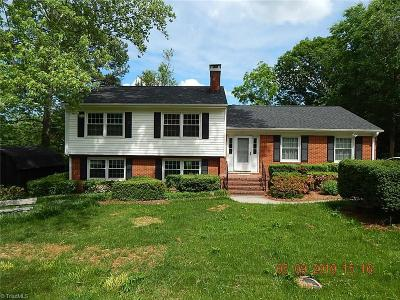 Greensboro Single Family Home Due Diligence Period: 1712 Lakemont Drive