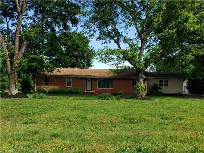 Davie County Single Family Home For Sale: 191 Cana Road