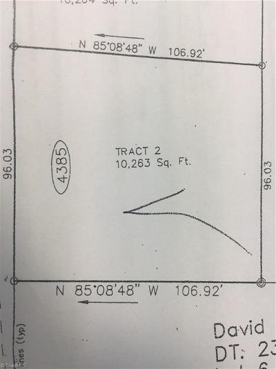 Winston Salem Residential Lots & Land For Sale: 4385 Wakeman Drive
