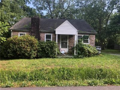 High Point Single Family Home For Sale: 206 Moffitt Drive