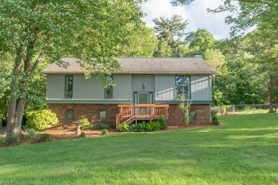 Pfafftown Single Family Home For Sale: 5923 Bethania Tobaccoville Road