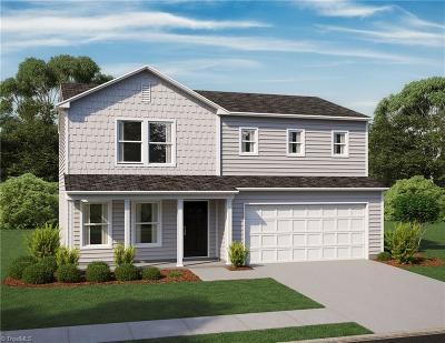 Asheboro NC Single Family Home For Sale: $159,990