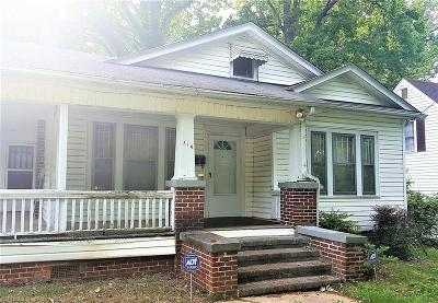 Winston Salem Single Family Home For Sale: 316 Forest Hill Avenue