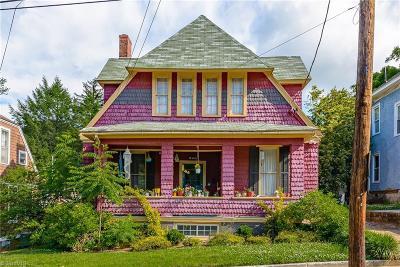 Winston Salem Single Family Home For Sale: 829 W 6th Street
