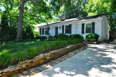 Greensboro Single Family Home Due Diligence Period: 1107 Hill Street